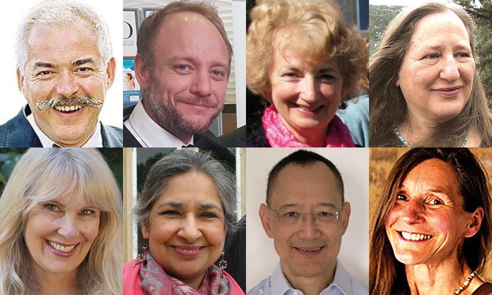 Conference Speakers: Max Girardin, Danny Orchard, Susan Turner, Oriana Evans, Pamela Vaill Carter, Taj Deoora, Kok Weng Lim, Mary Bolingbroke